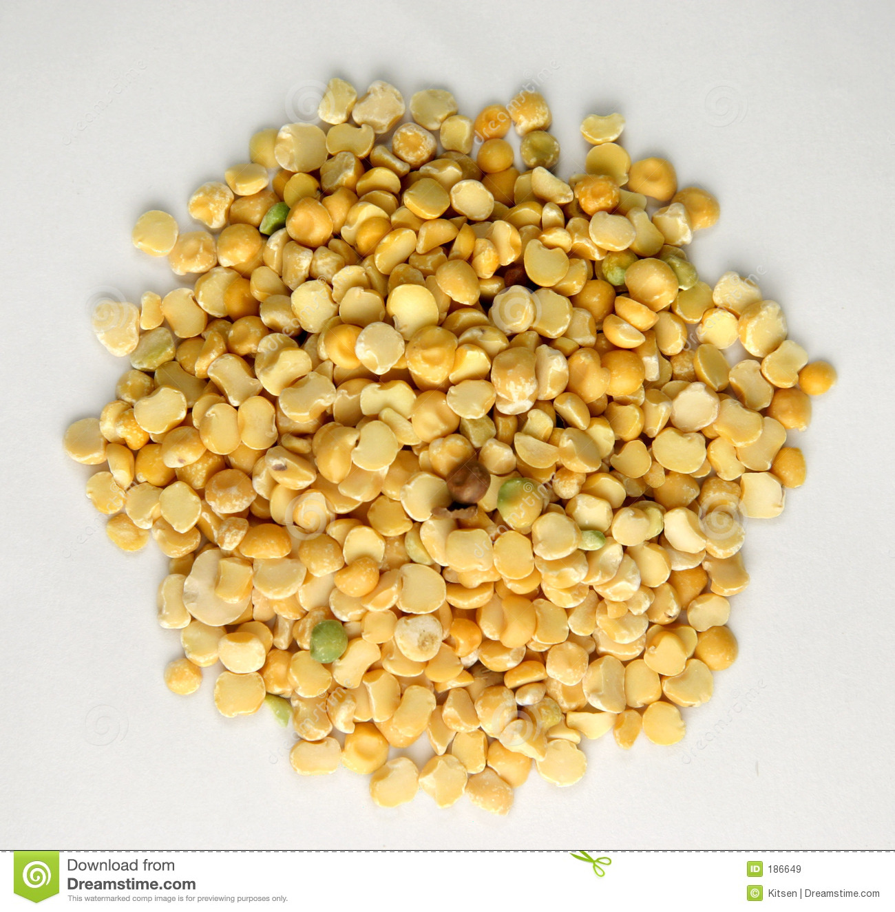 Yellow Lentils Royalty Free Stock Images - Image: 186649