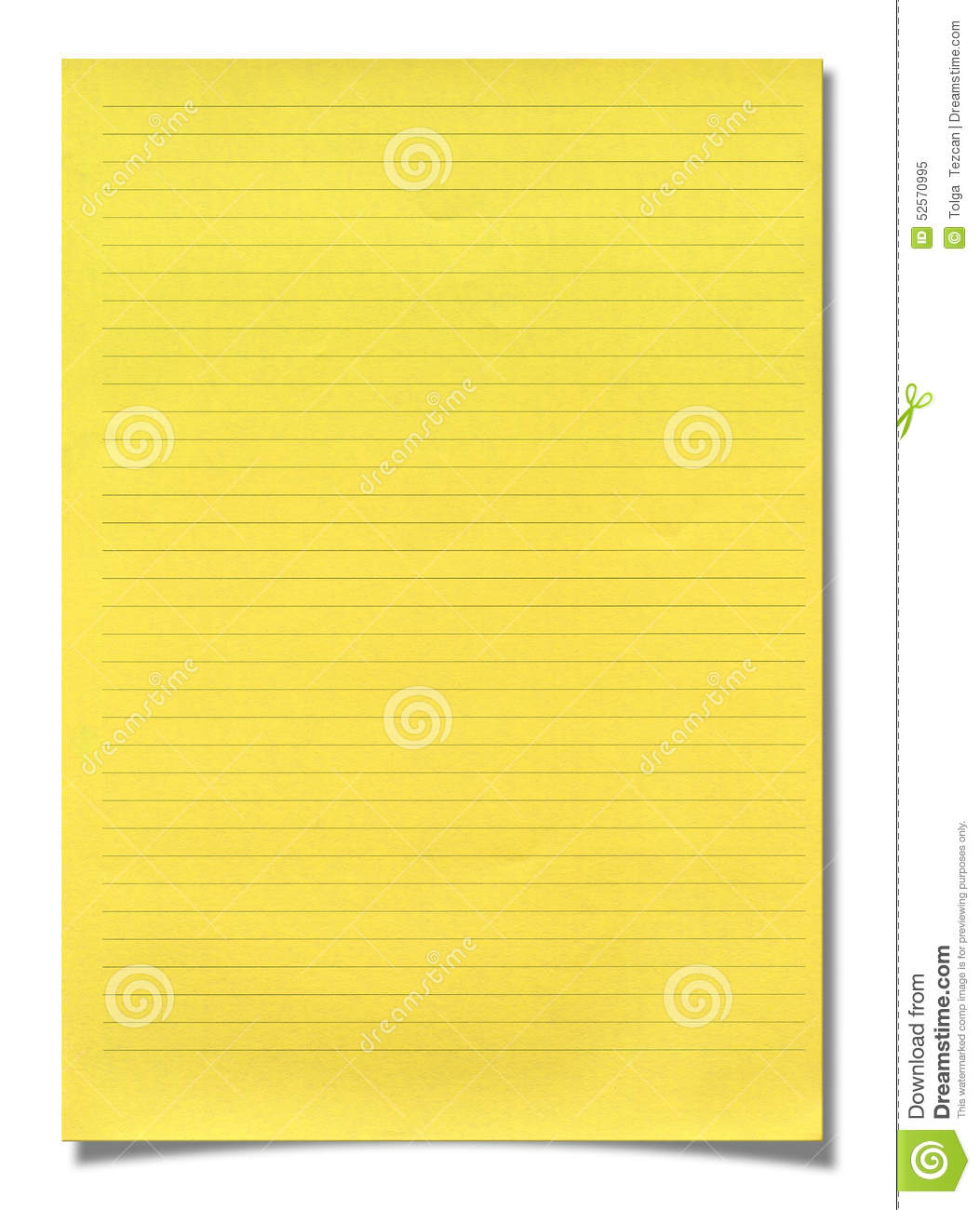 yellow lined paper I am using ms word 2013 and am trying to get a letter sent out using the yellow lined paper and can't get the words to line up within the spaces properly some of them line up but not all of them.