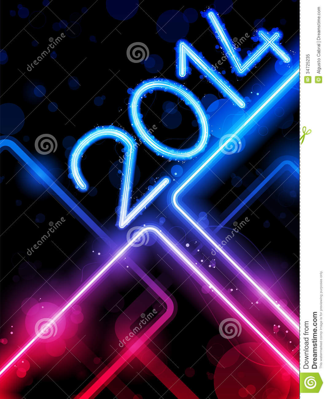 2014 Yellow Lines Background Neon Laser Royalty Free Stock Photo ...