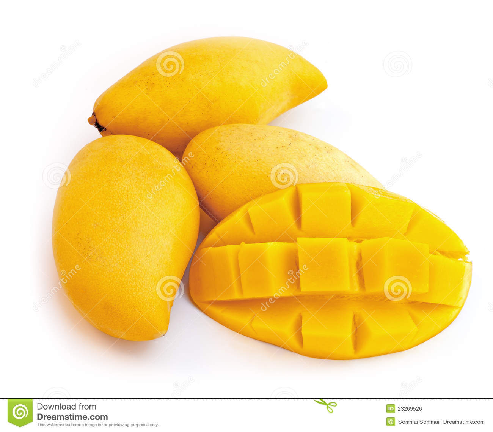 Yellow Mango Royalty Free Stock Image - Image: 23269526