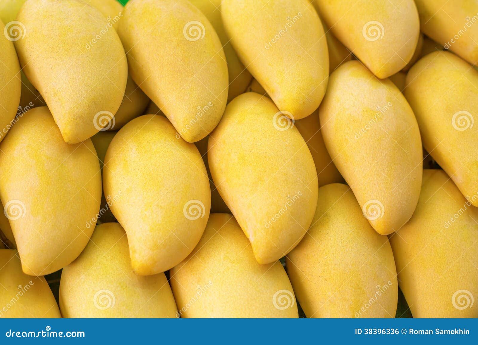 Yellow Mango on market