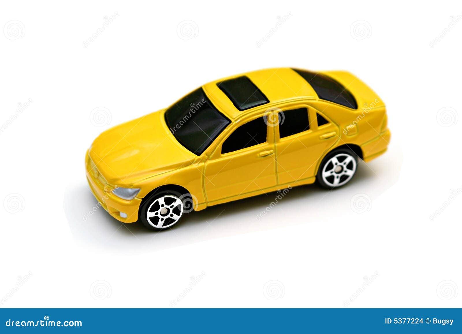 Yellow Matchbox Car