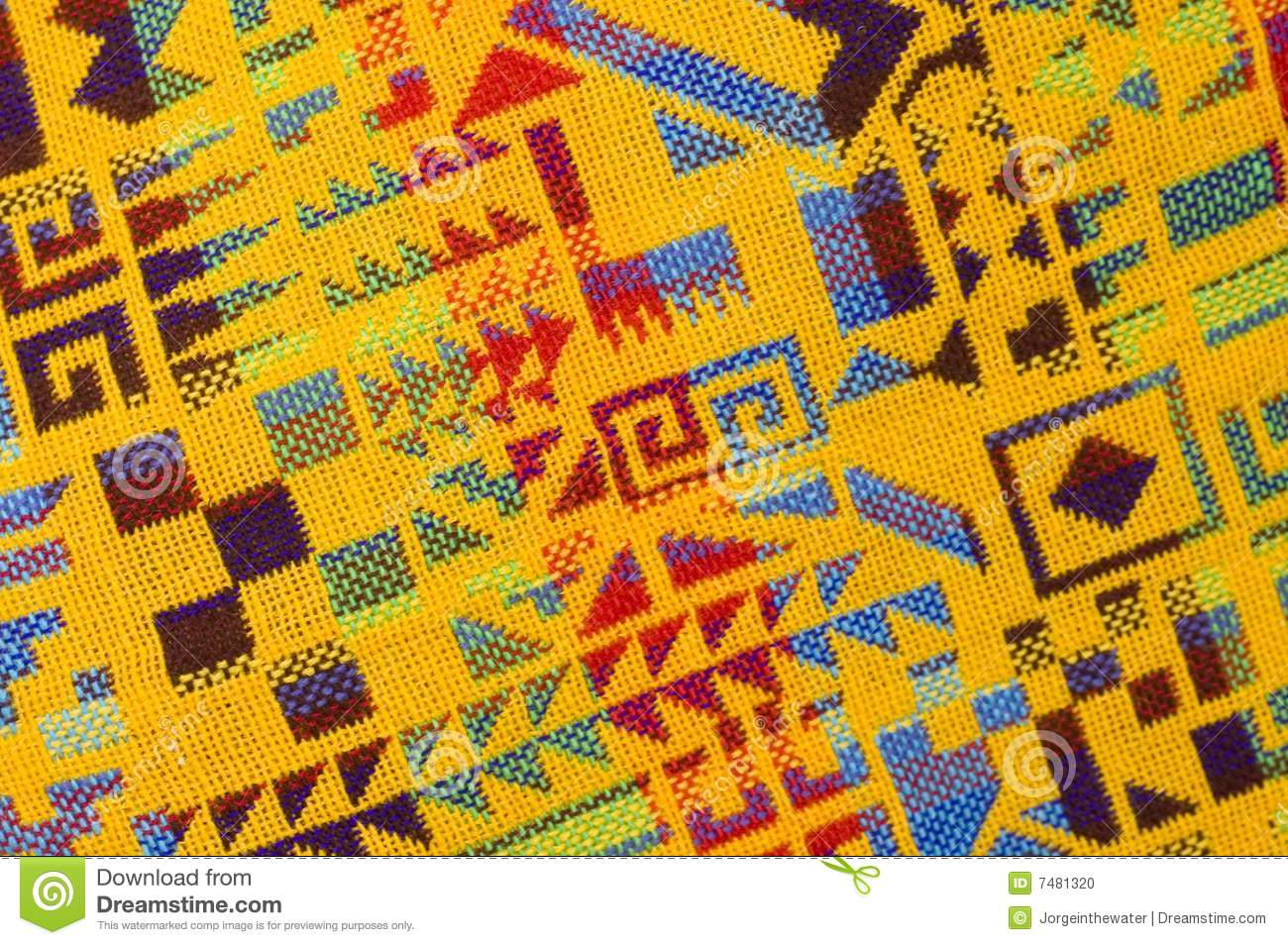 Native American Indian Designs And Patterns Yellow Mayan Pattern S...