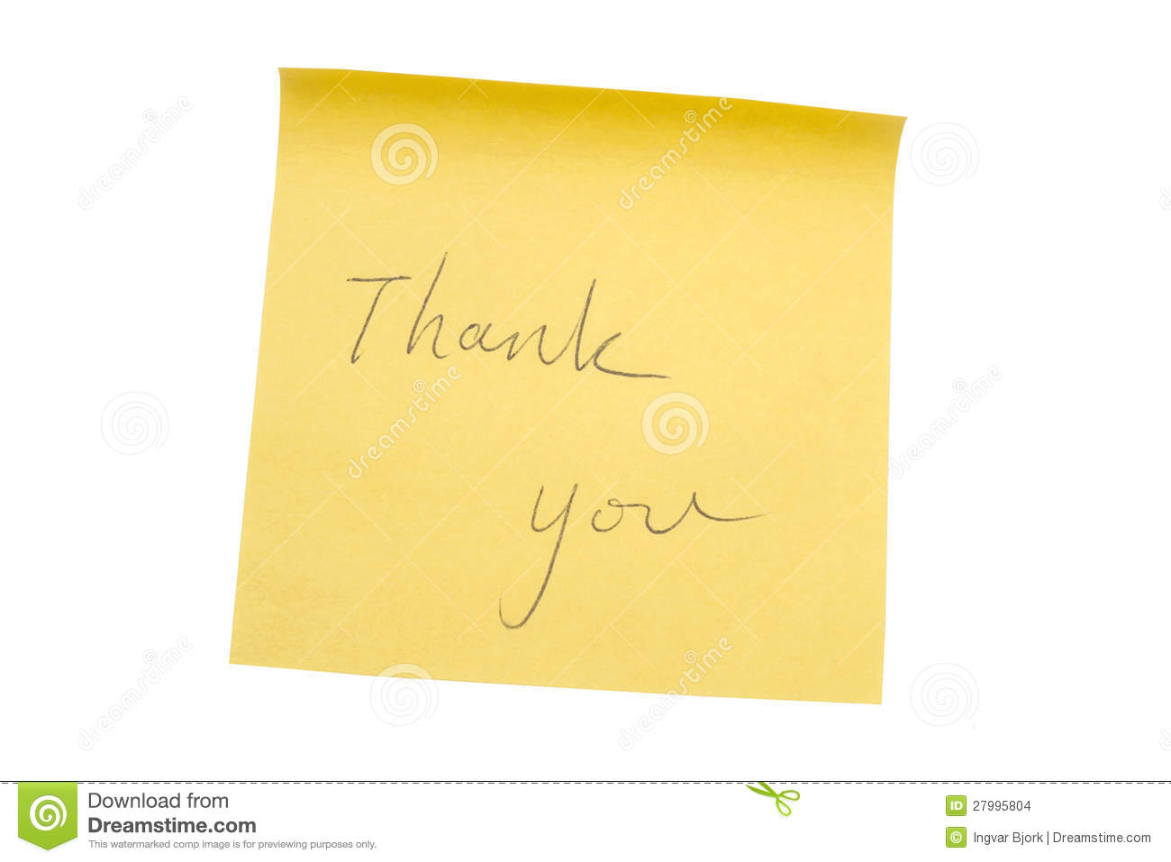 Yellow memo paper stock photo  Image of notice, remember - 27995804