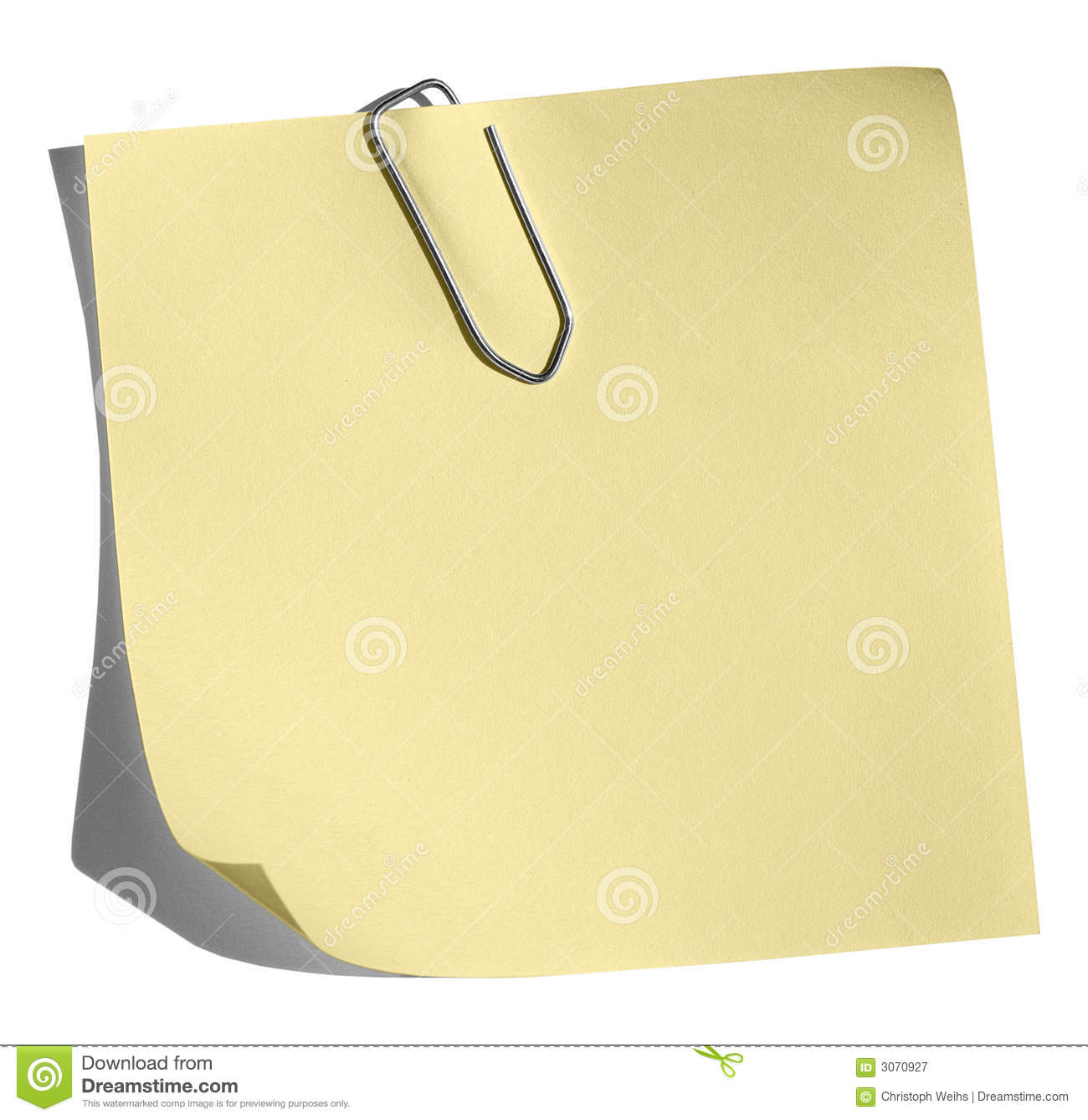 memo stock photos images pictures images yellow memo paper clip royalty stock photography