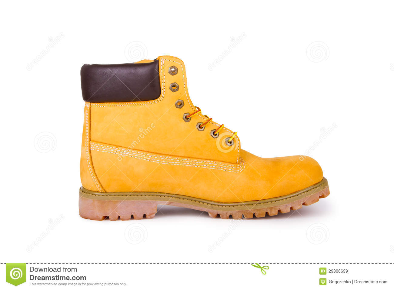 Yellow Boots Royalty Free Stock Images - Image: 29806639