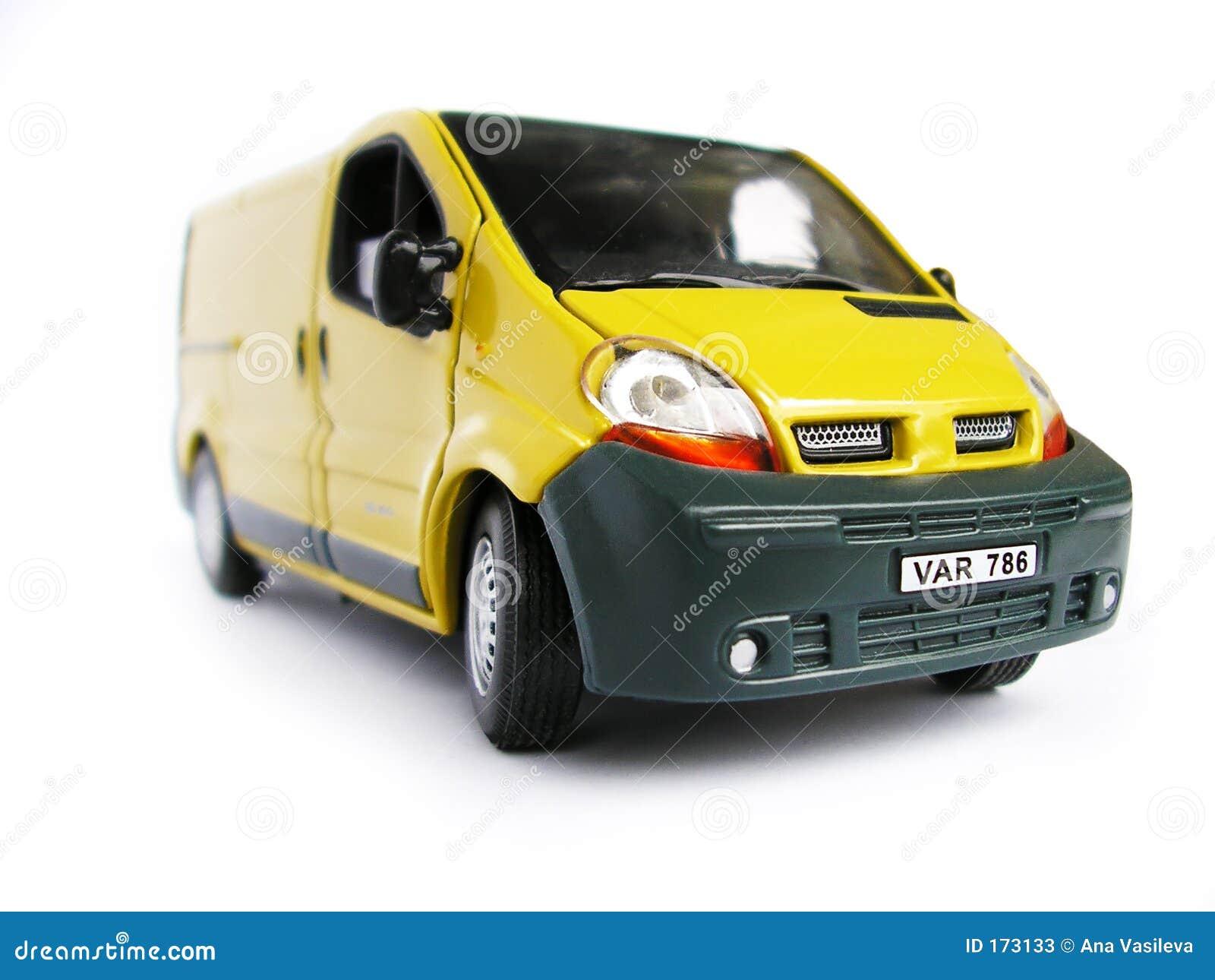 Yellow Model Car - Van. Hobby, Collection