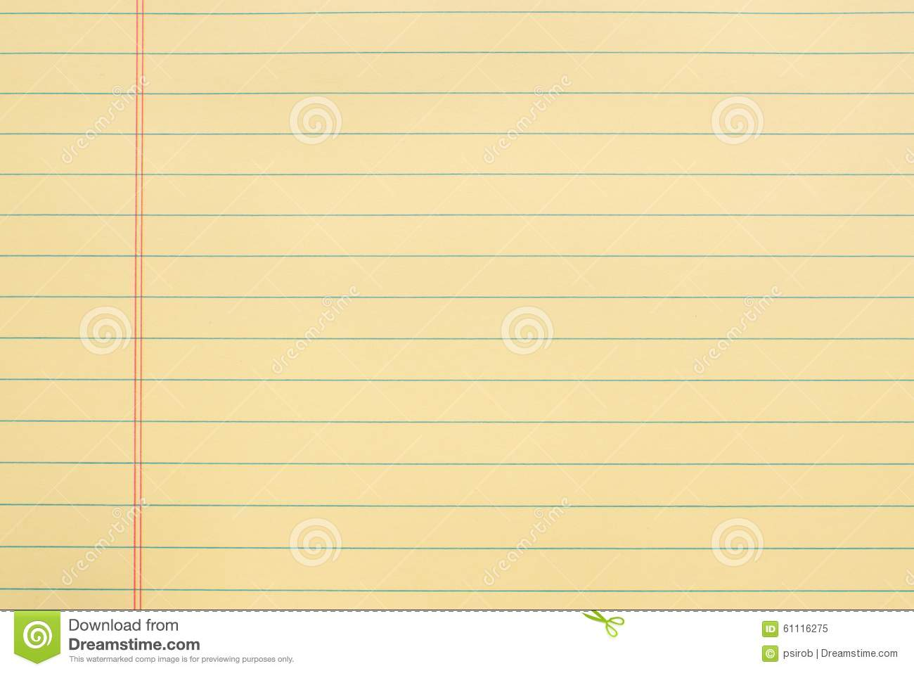 Yellow Notebook Paper Background Yellow Notebook Paper Clipart – Yellow Notebook Paper Background