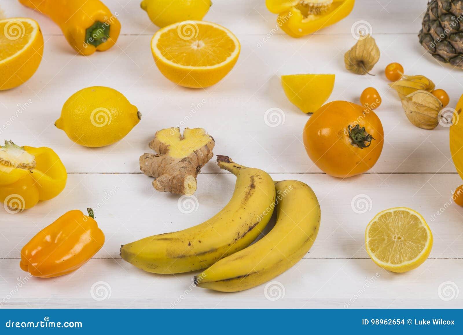 Yellow and orange fruit stock photo. Image of berry ...
