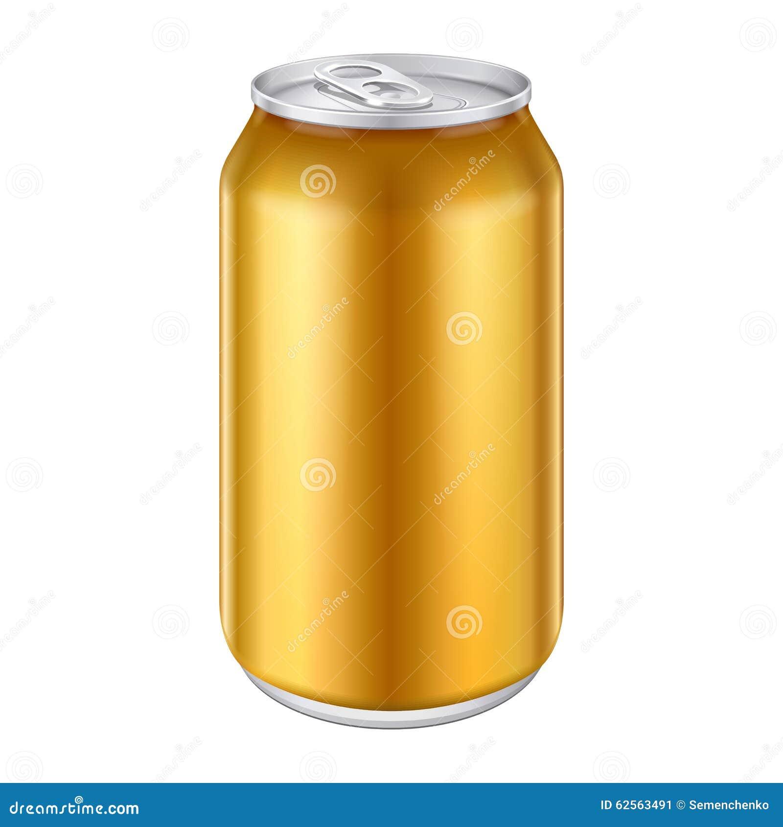 Yellow Orange Gold Bronze Metal Aluminum Beverage Drink ...