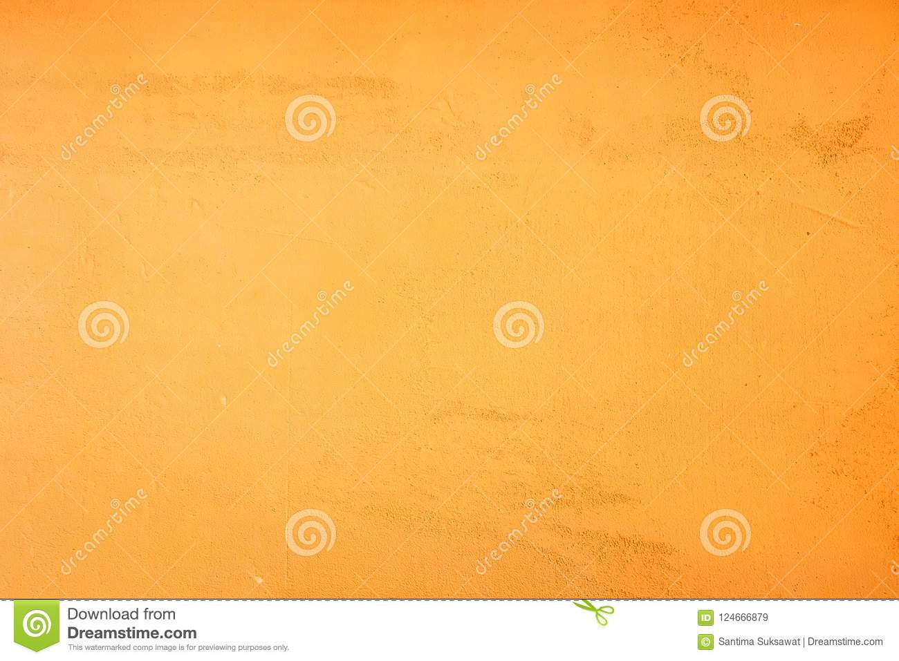 Yellow Orange Grunge Wall Color And Texture Background Stock Image ...