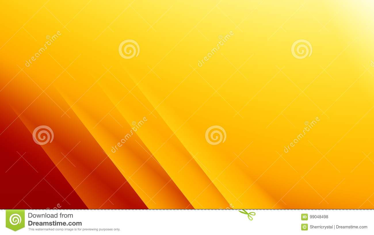 Yellow Orange Red Modern Abstract Fractal Background