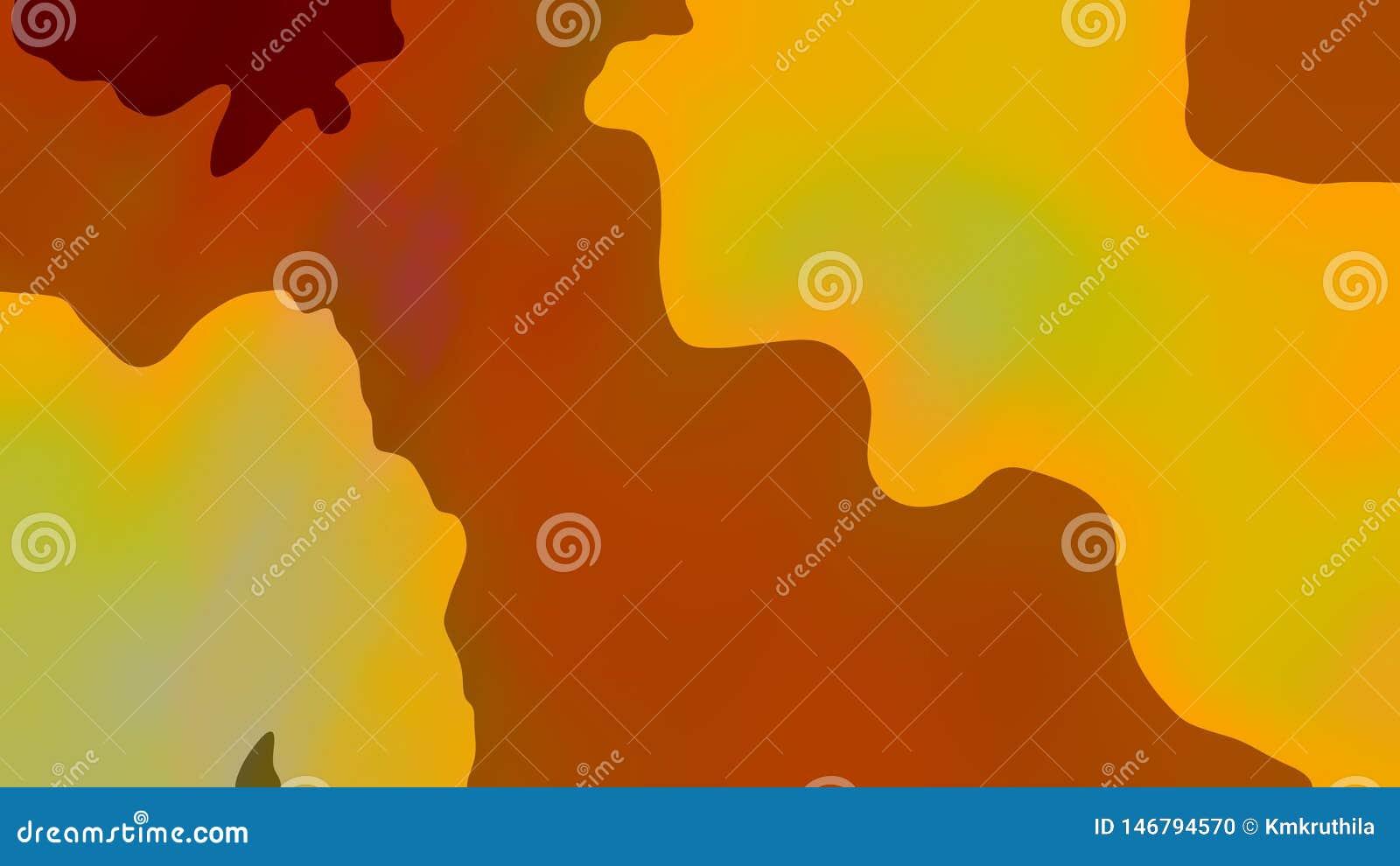 Yellow Orange Silhouette Background Beautiful elegant Illustration graphic art design Background