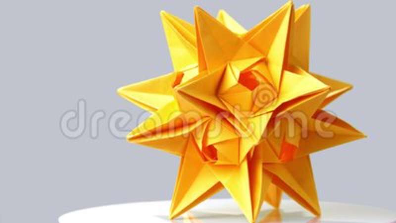 Origami Transforming Super Star - YouTube (com imagens) | Tutorial ... | 450x800
