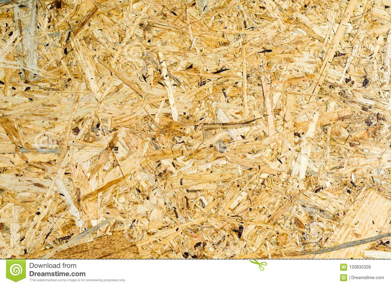 Osb Panel Wood Chipboard Texture Stock Photo - Image of