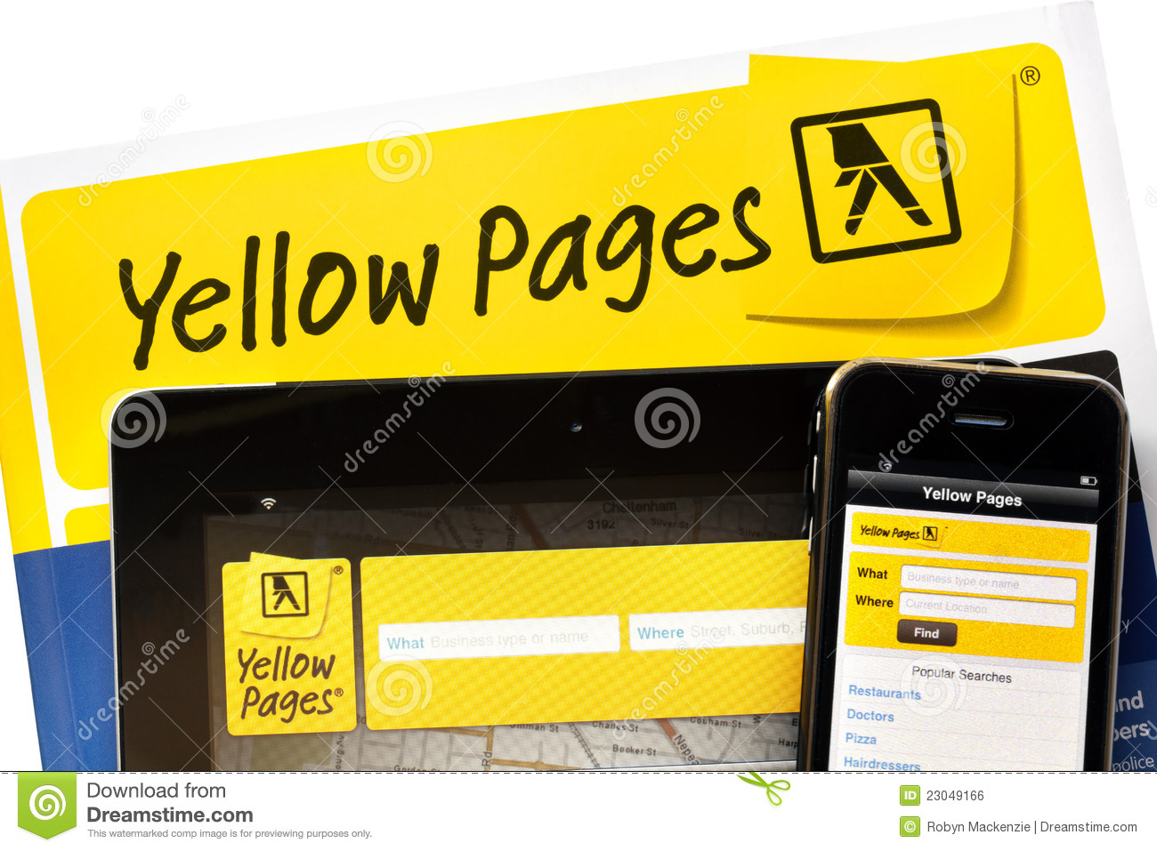 Yellow pages melbourne address