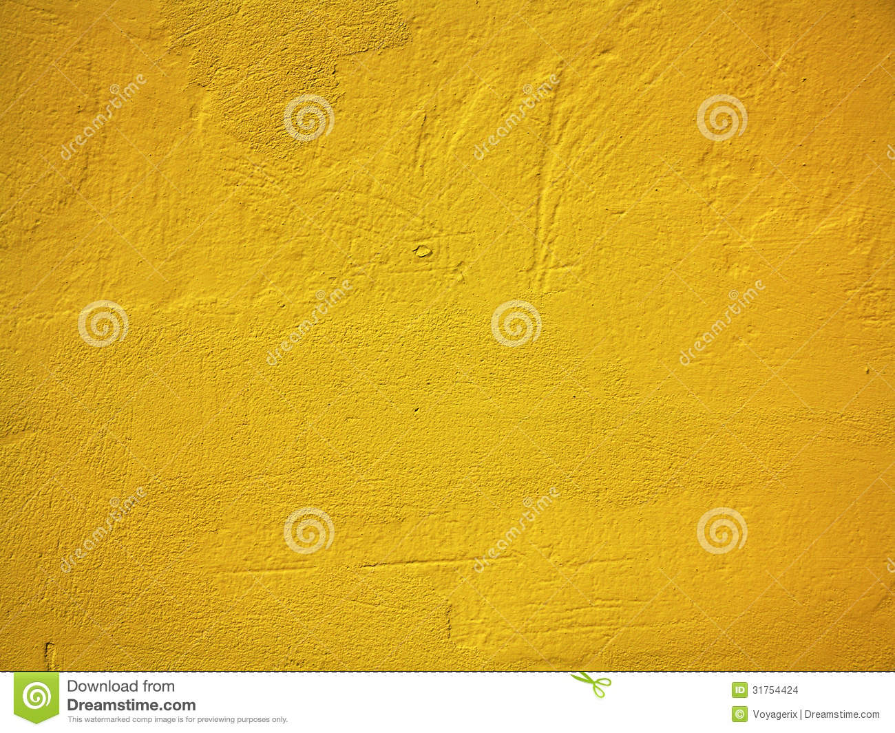 yellow paint wall background or texture stock images image 31754424