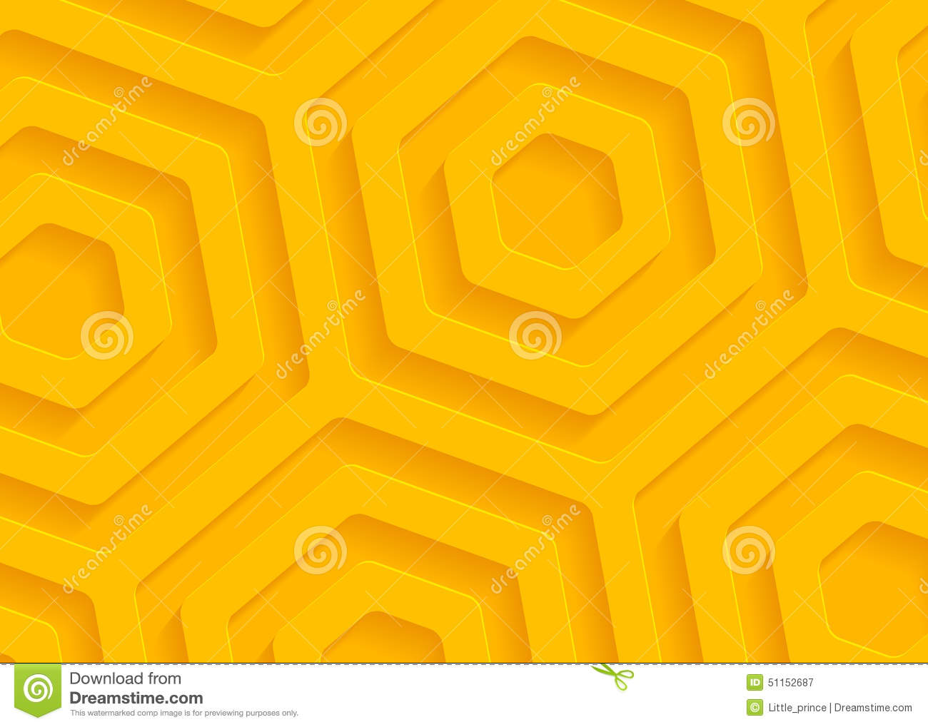 Yellow paper geometric pattern, abstract background template for website, banner, business card, invitation