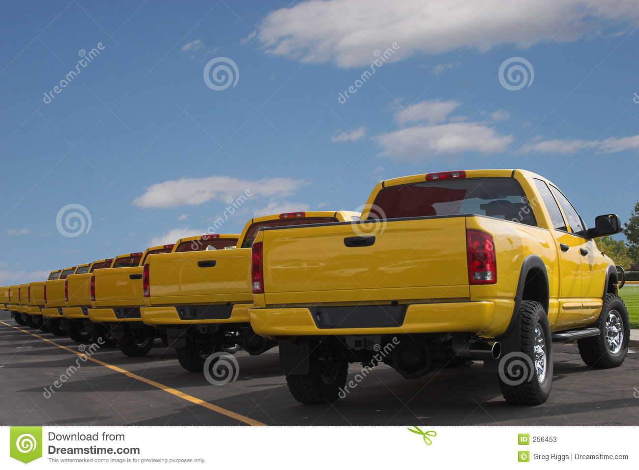 Used Cars For Sale Stock Image Image Of Cars License: Yellow Pickup Trucks Stock Image. Image Of Alert, Cars