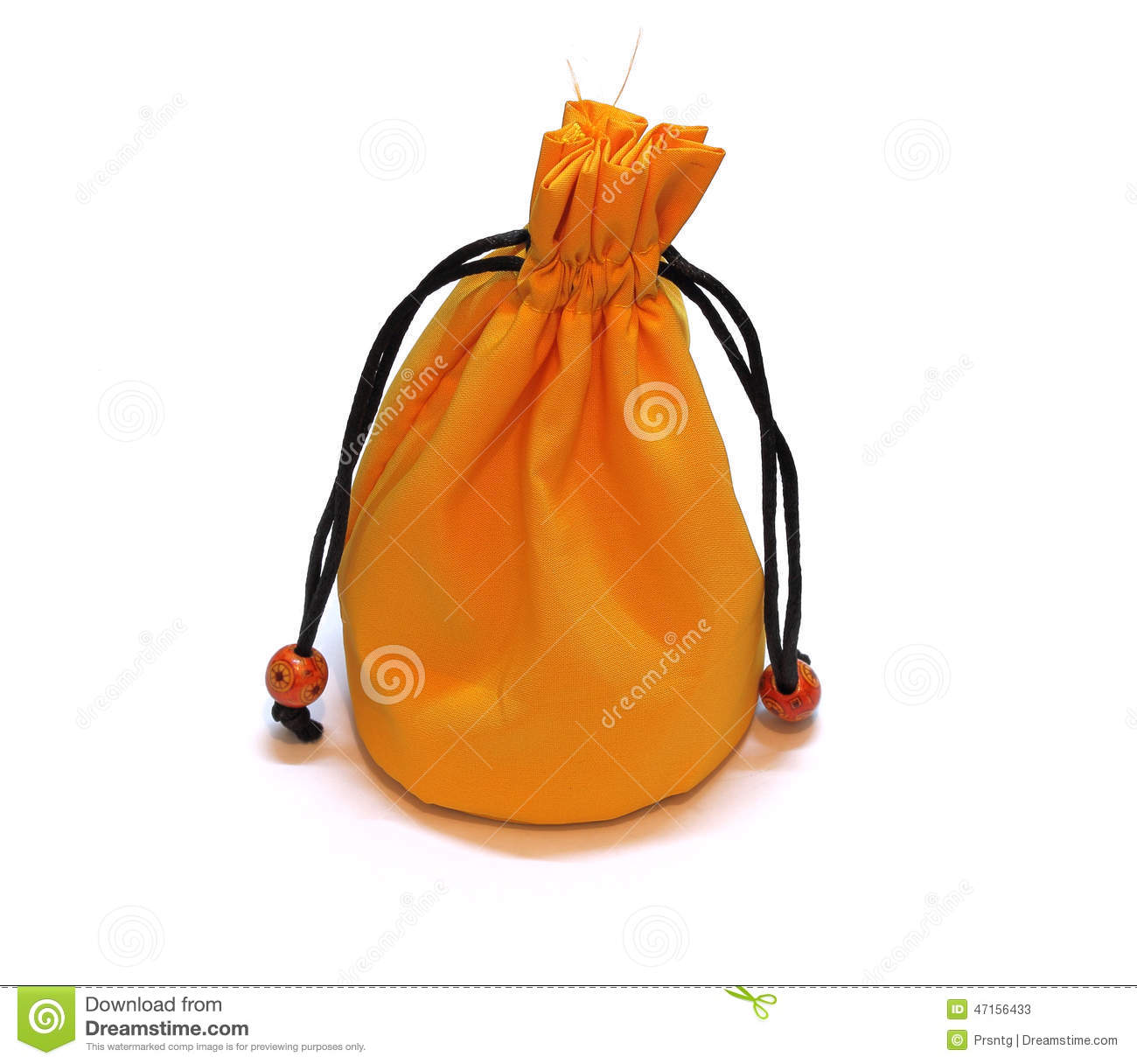 Download Yellow Pouch Money Bag Isolated Stock Image - Image of prize, bumper: 47156433