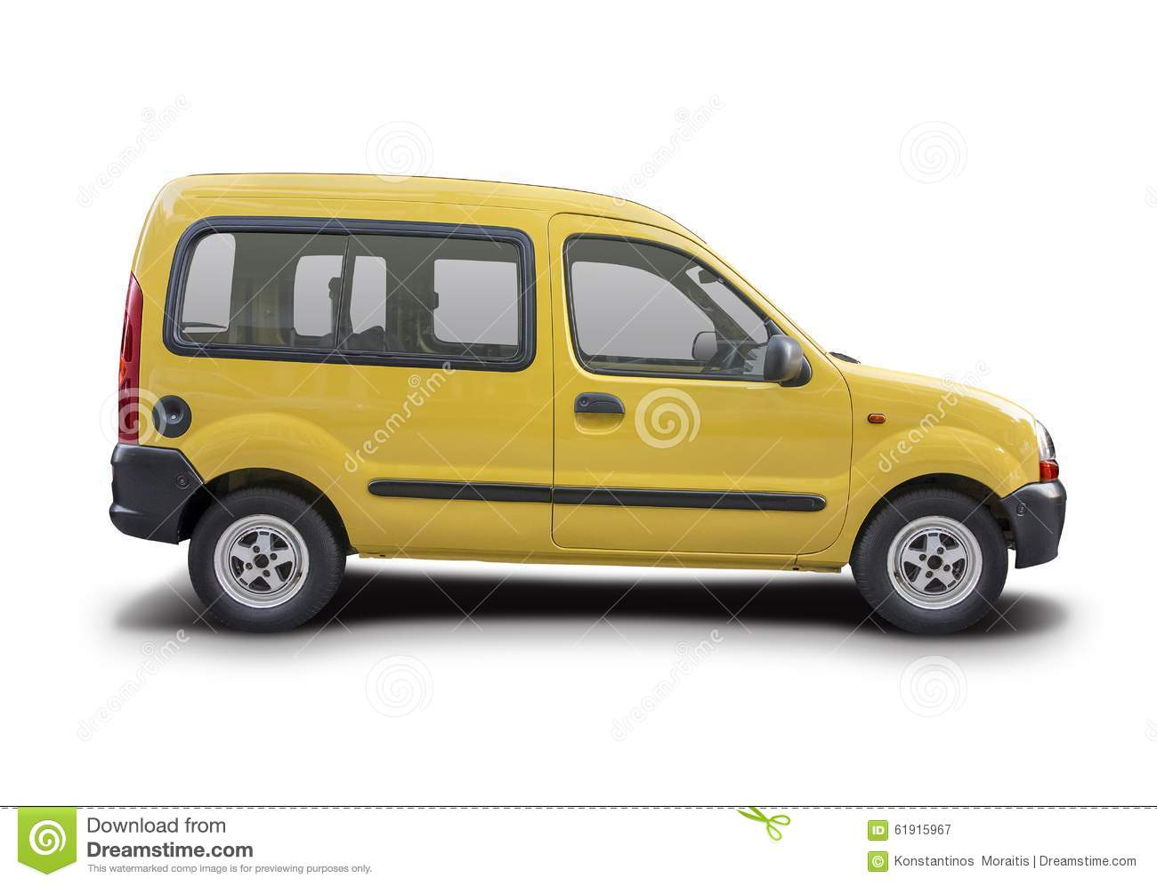 renault kangoo express 2010 vector illustration. Black Bedroom Furniture Sets. Home Design Ideas