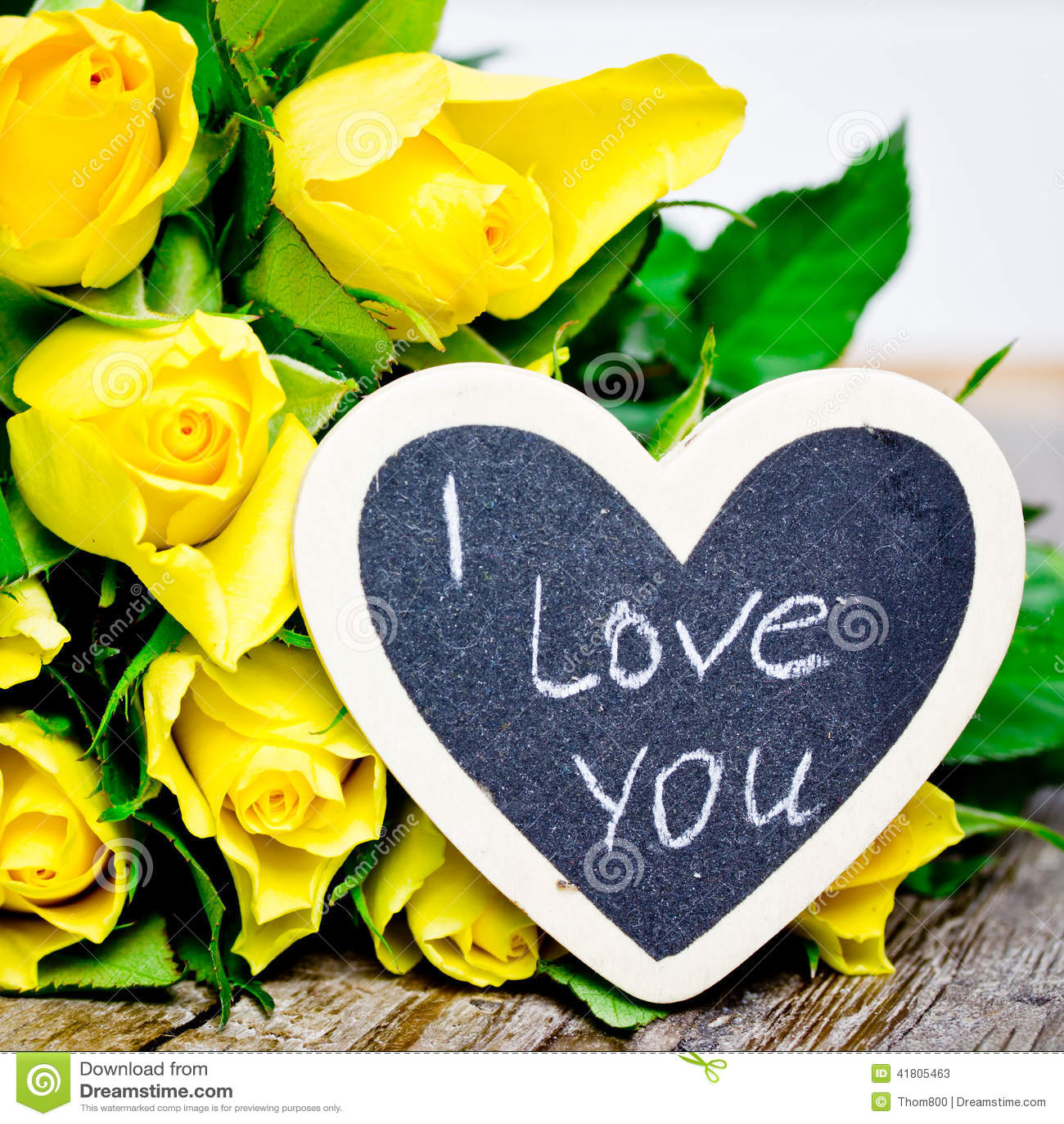 Yellow Roses Stock Photo - Image: 41805463
