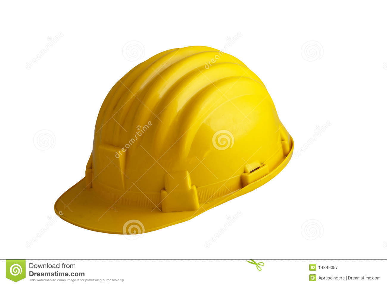 Yellow Safety Gear Royalty Free Stock Photography Image