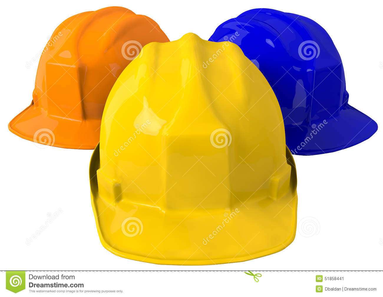 Yellow safety helmet or hard hat on white background. High definition a79a7f79f