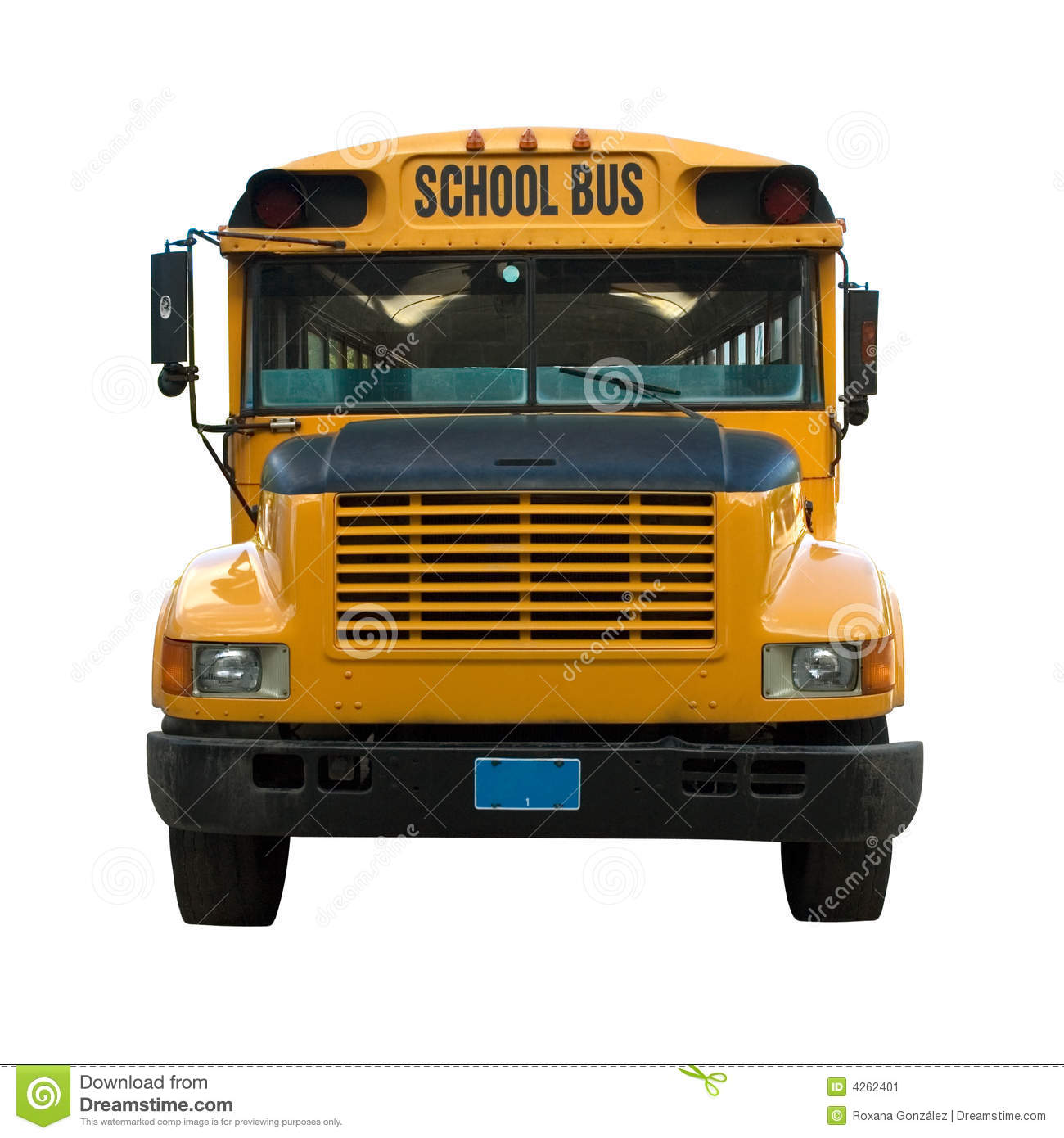 Yellow School Bus Stock Image - Image: 4262401