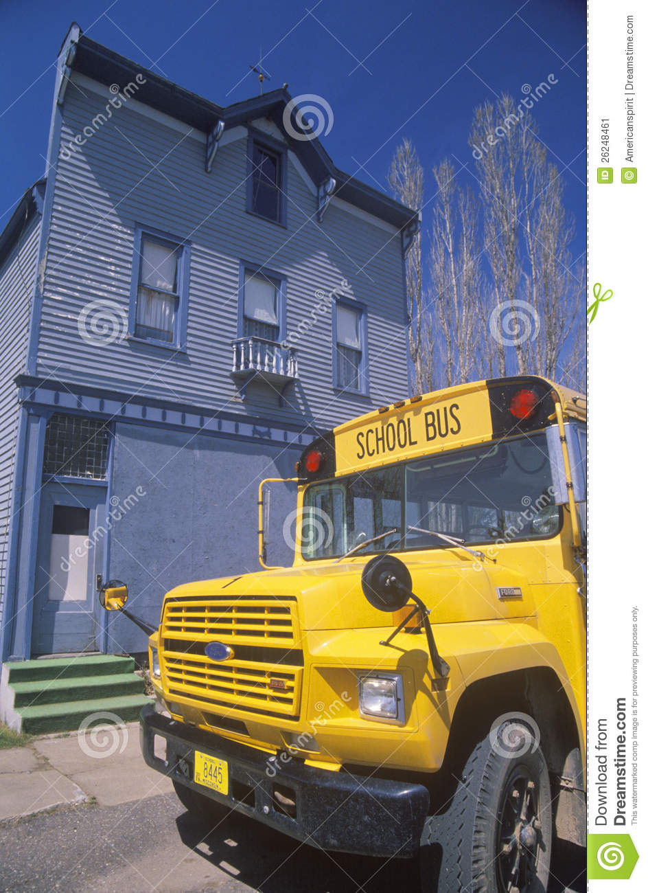 A Yellow Schoolbus Editorial Photo Image Of States Transportation