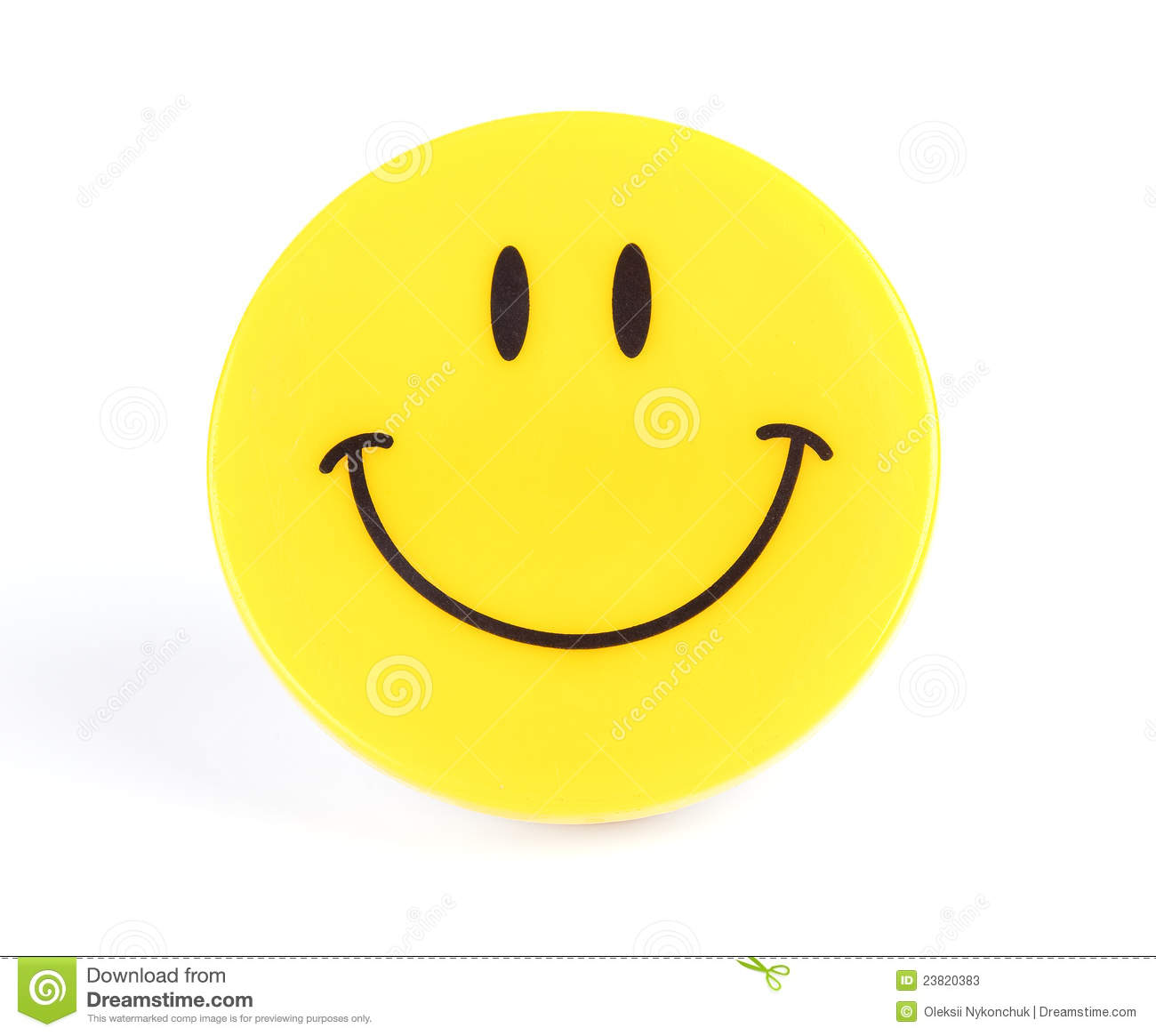 Yellow Smile Stock Photos - Image: 23820383
