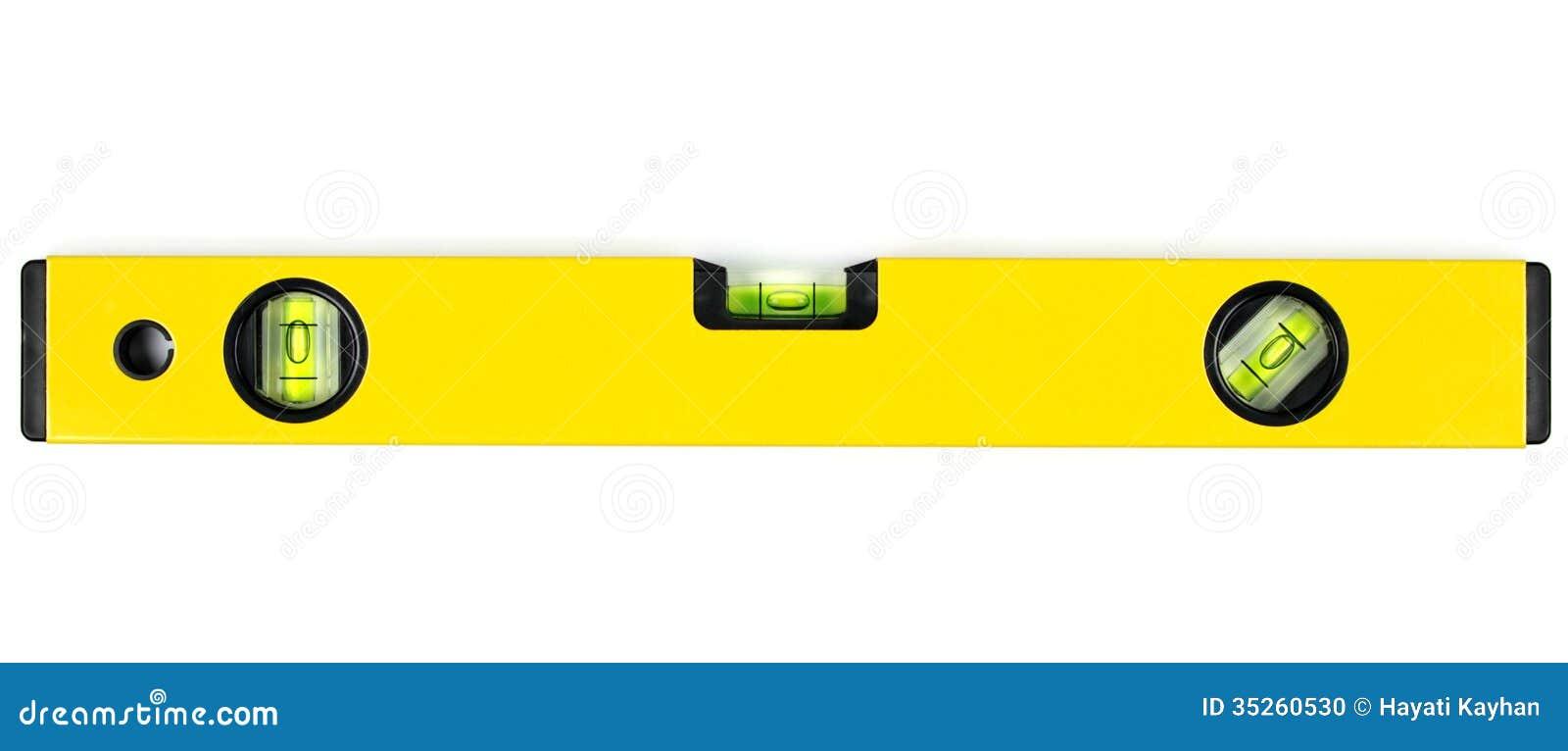 Yellow spirit level stock photo image of engineering 35260530 yellow spirit level pooptronica