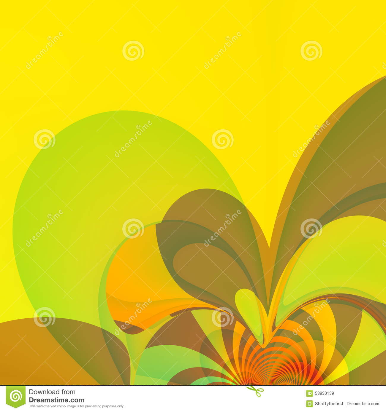 Yellow Splash Presentation Background Colored Wall Paper