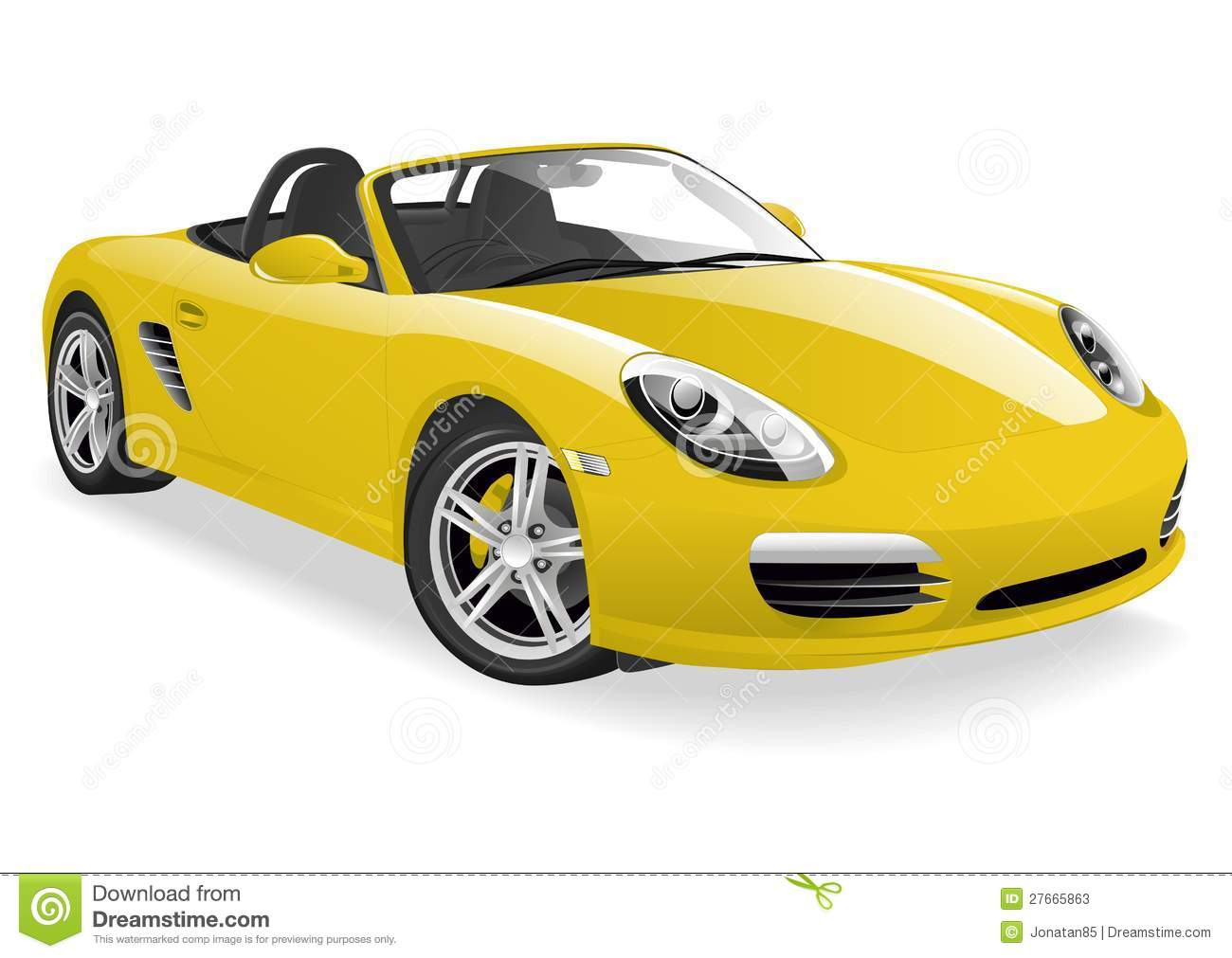 vehicle yellow sports car - photo #25