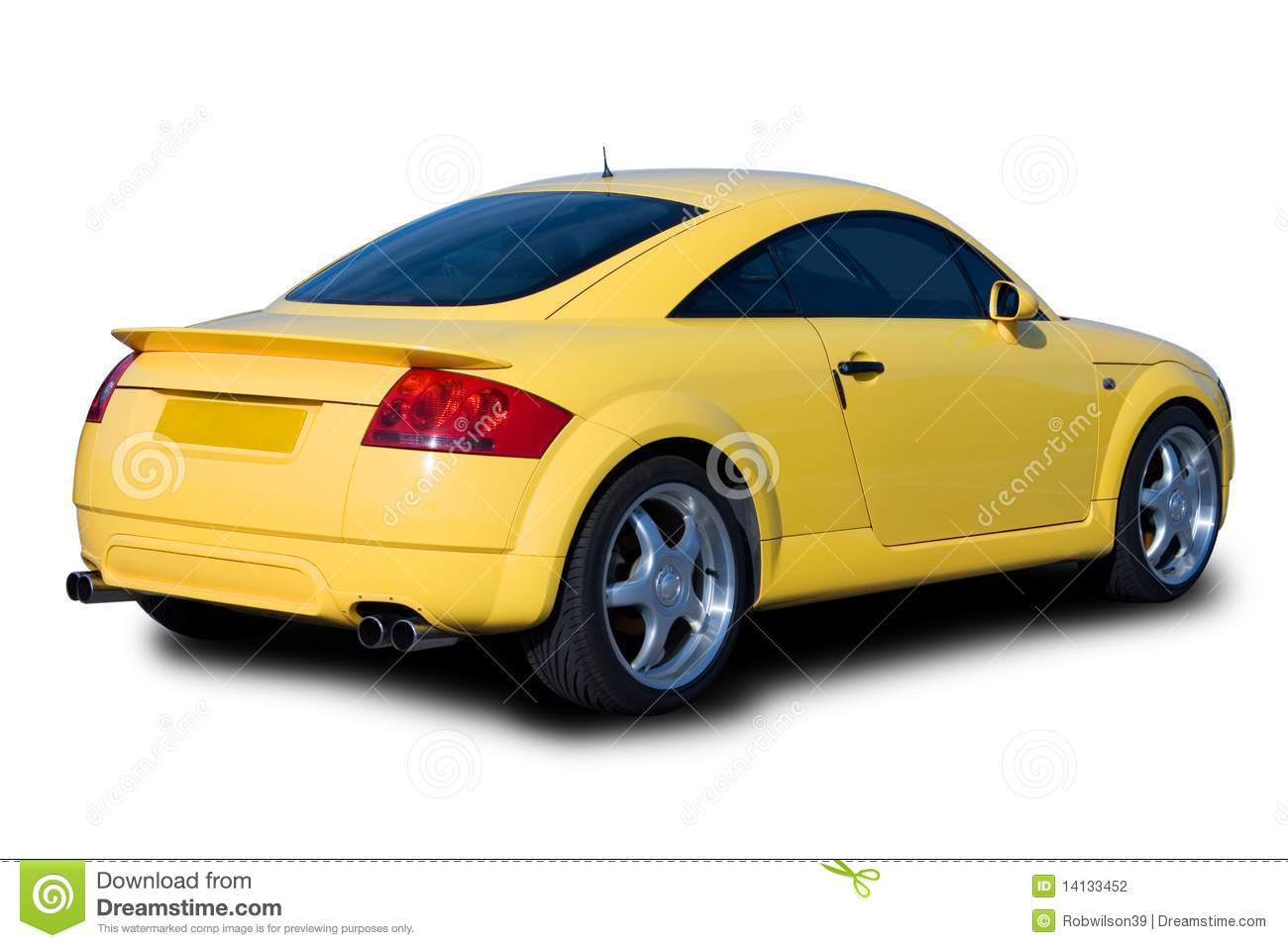 vehicle yellow sports car - photo #20