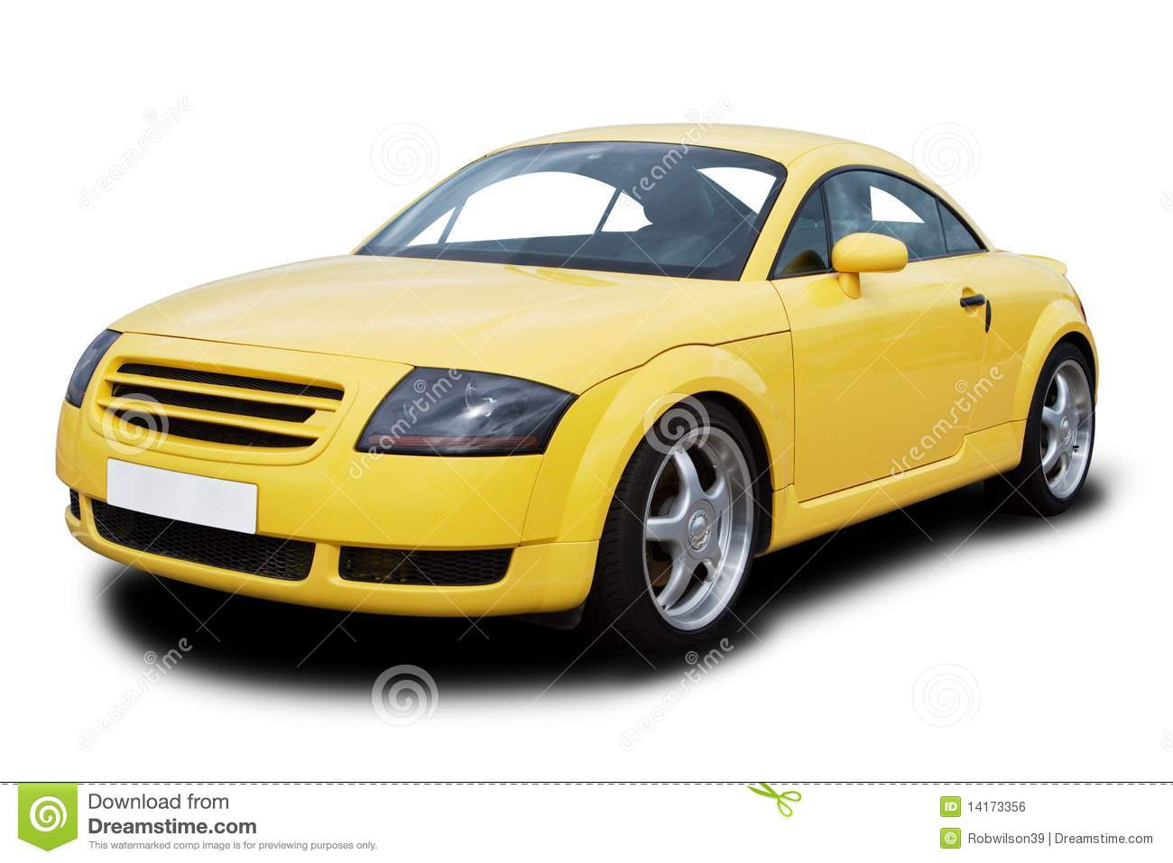 vehicle yellow sports car - photo #12