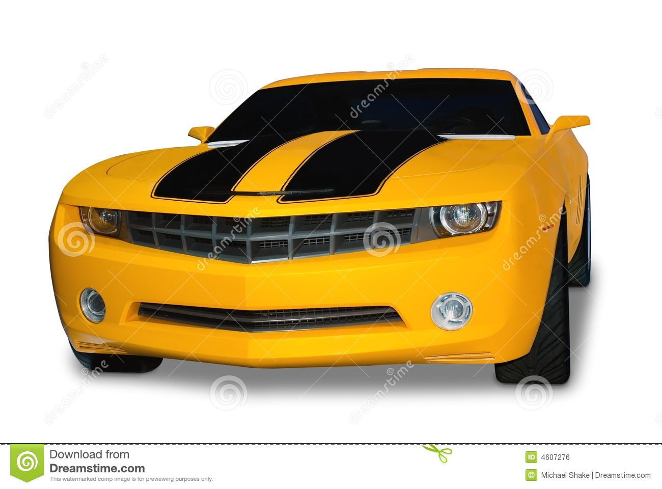yellow sports car royalty free stock image image 4607276. Black Bedroom Furniture Sets. Home Design Ideas