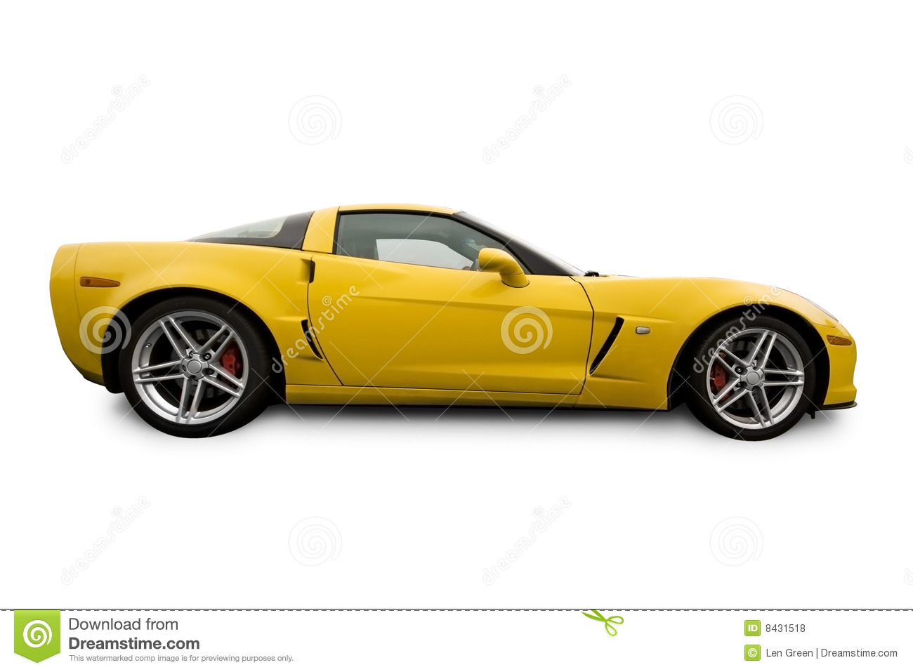 vehicle yellow sports car - photo #14