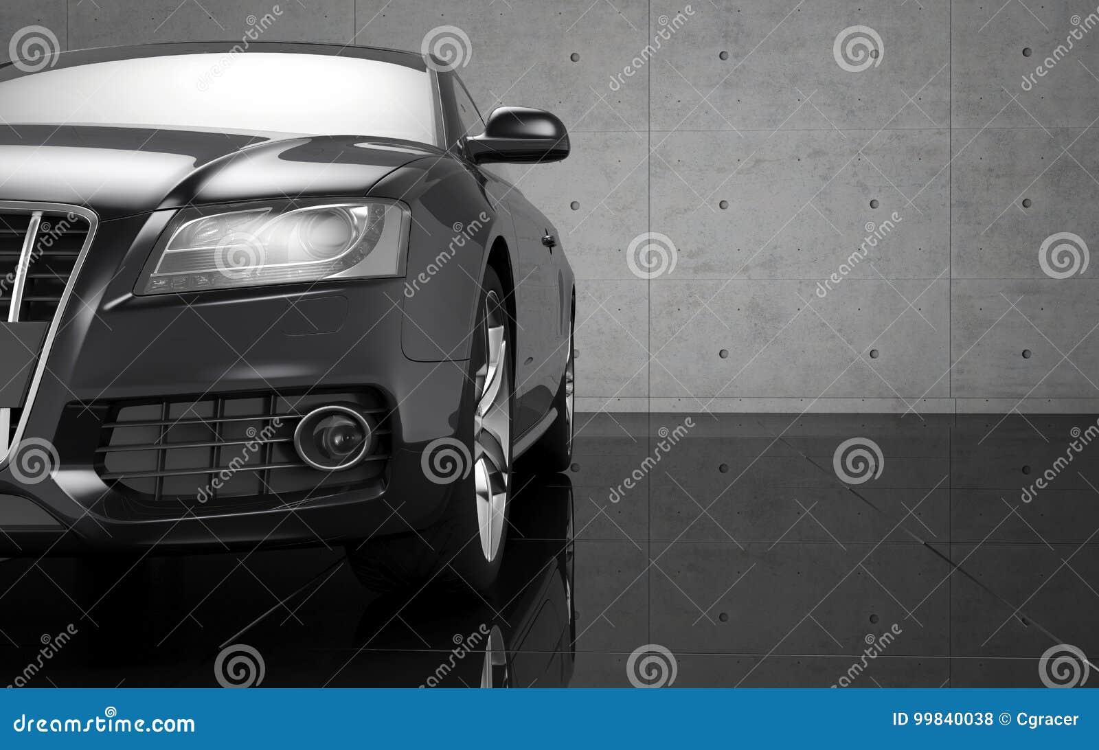 Luxury Car Wallpaper Stock Illustration Illustration Of Wallpaper