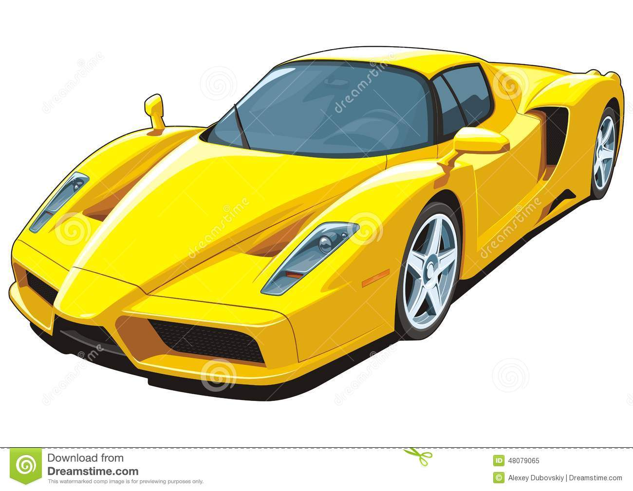 vehicle yellow sports car - photo #31