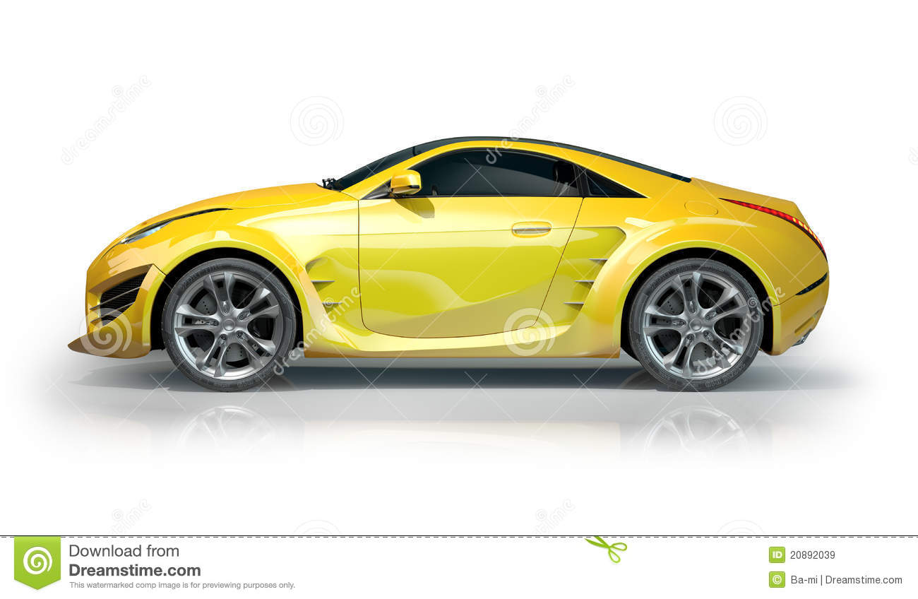 vehicle yellow sports car - photo #49