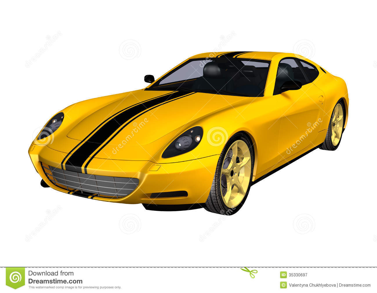 vehicle yellow sports car - photo #28