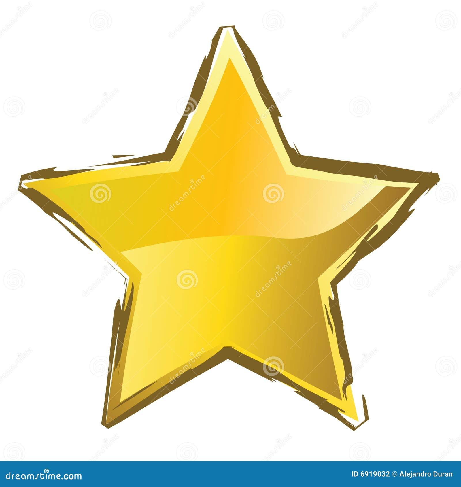 Yellow Star Stock Photography - Image: 6919032