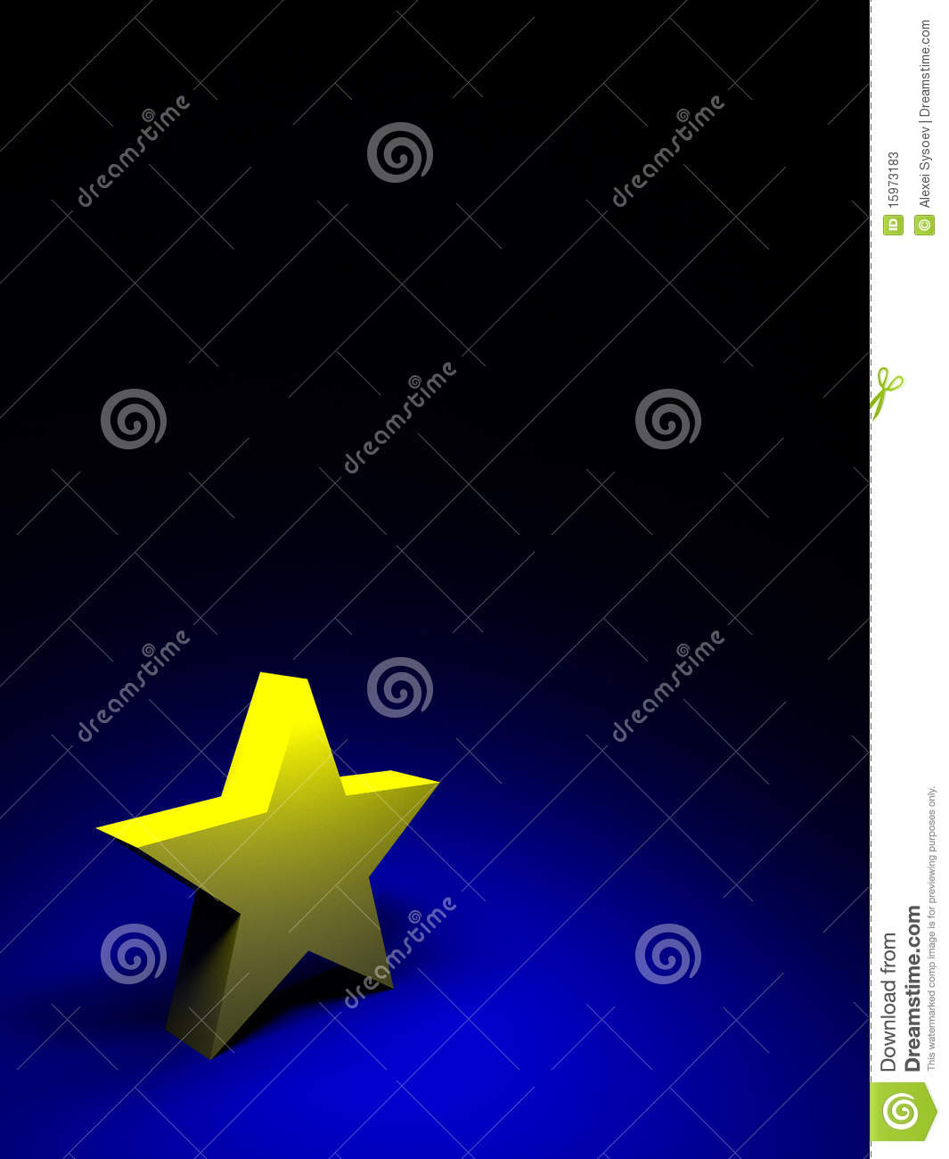yellow star on dark blue background stock photos image