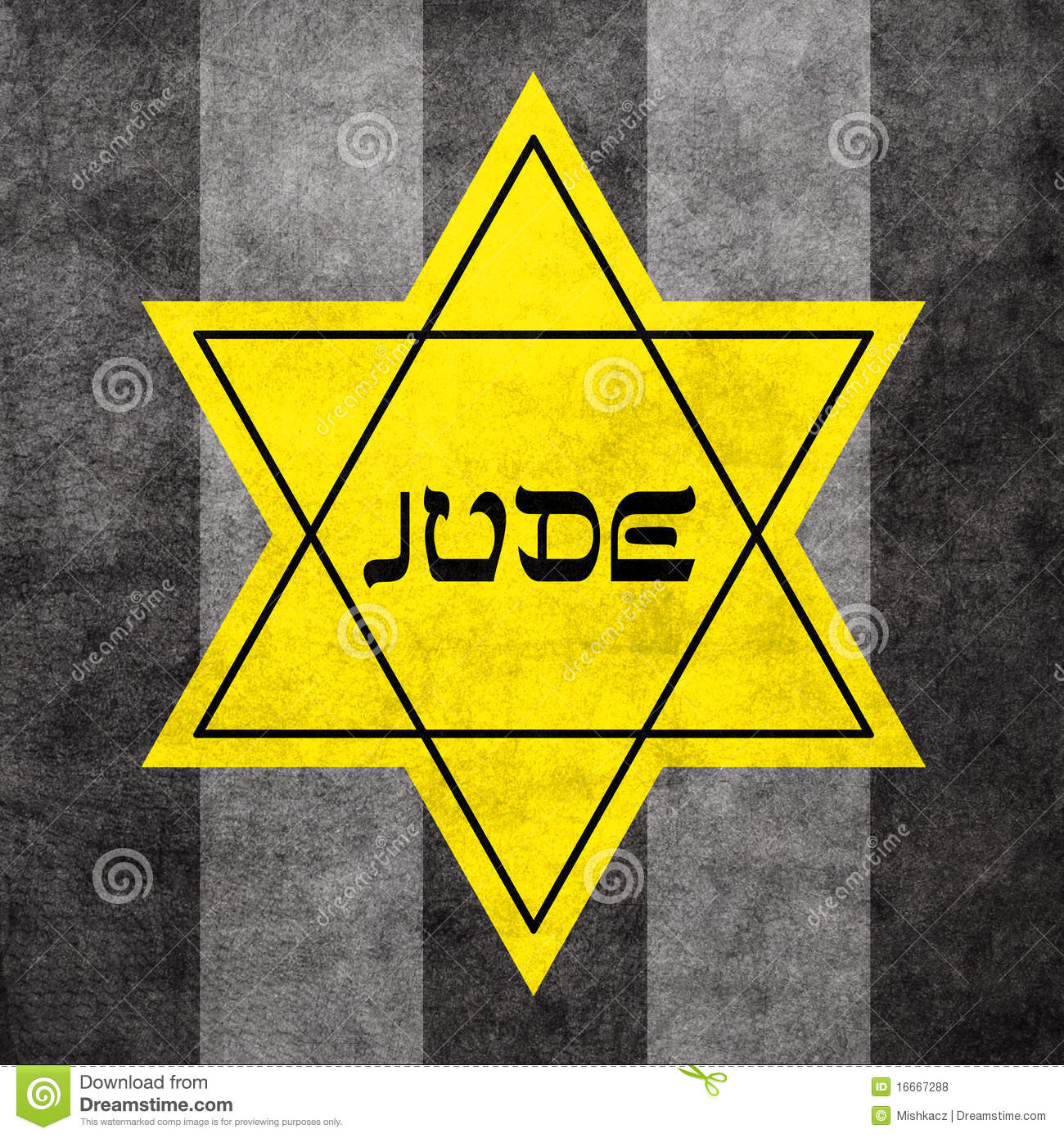 Thread Jews Yellow Star Of David 118
