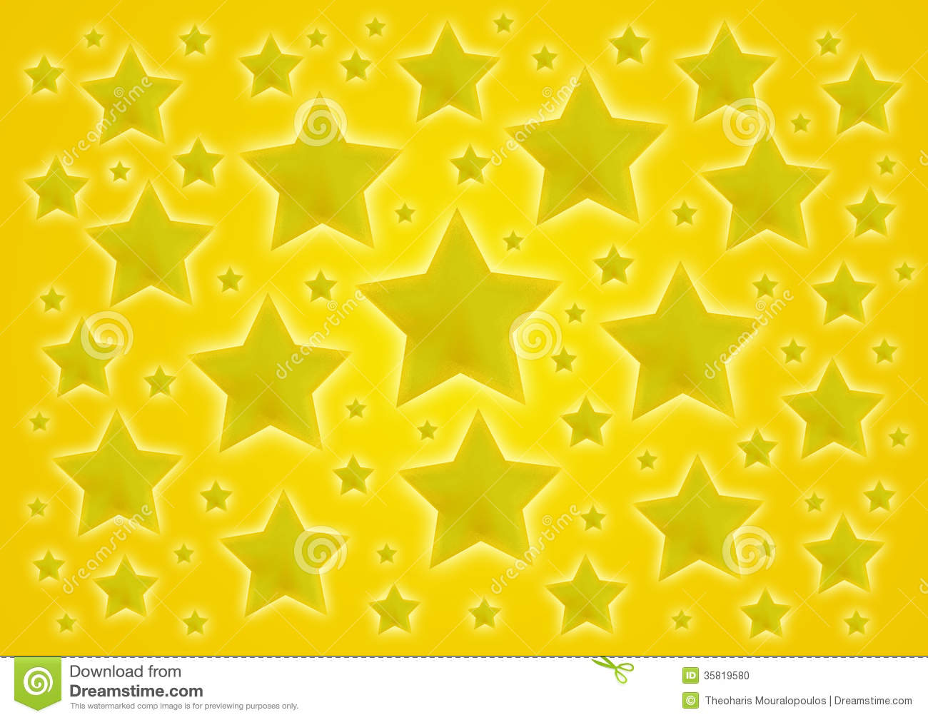 Stock Photo Yellow Stars Background Golden Shiny Image35819580 on Star Shapes To Print