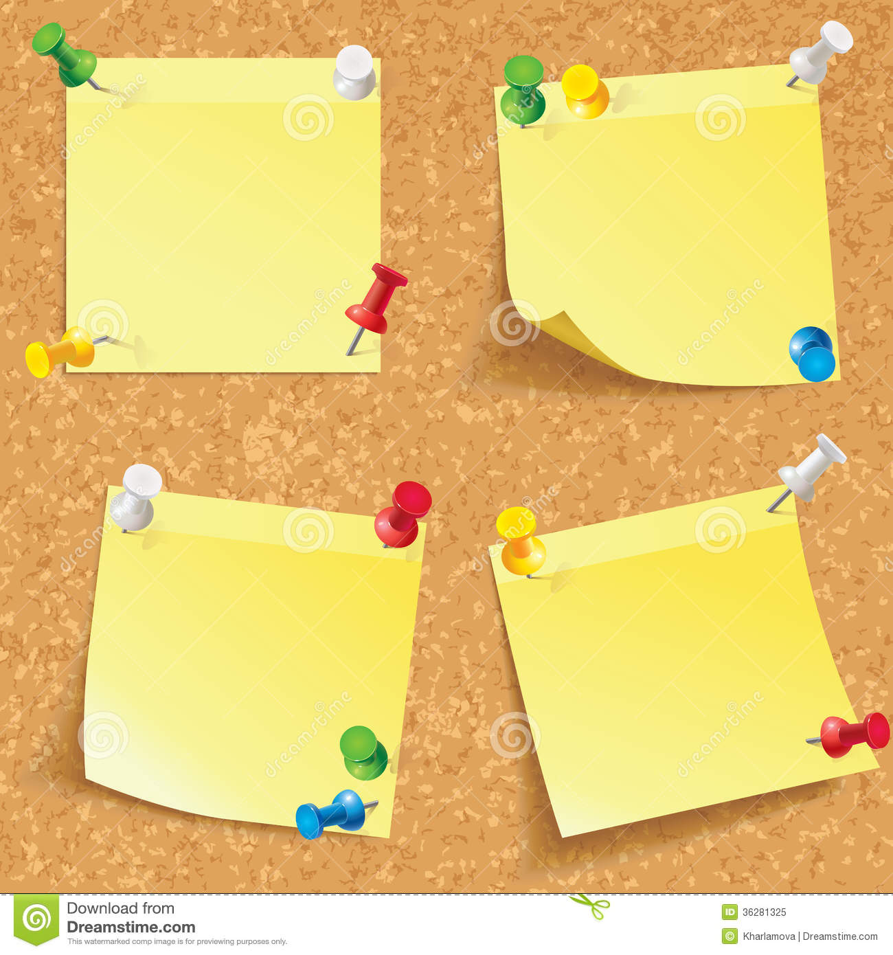 corkboard map with Royalty Free Stock Photo Yellow Stick Note Blank Notes Pinned Corkboard Ready Your Text Front View Vector Illustration Set Image36281325 on 15 Fun Features For Family Rooms further 32643829251 besides Stock Photos Pinboard Notes Image8015513 furthermore Royalty Free Stock Photo Tower Money Packs Image23120215 besides Thumbtack.
