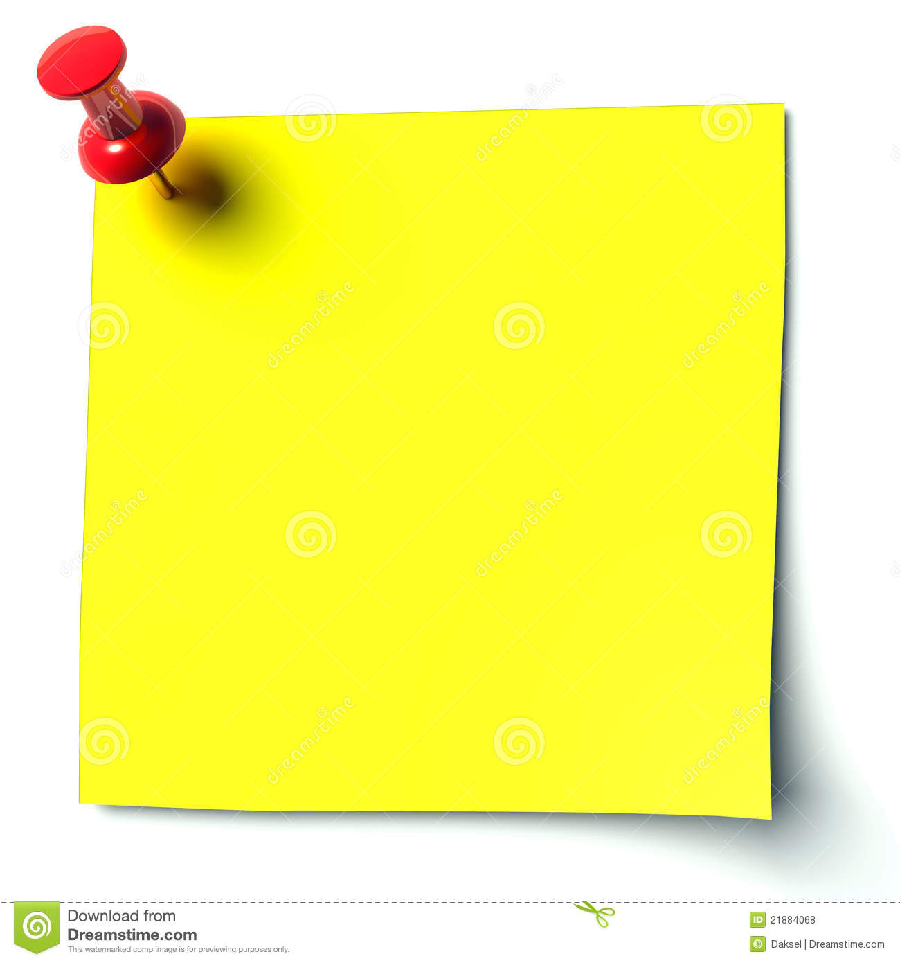 Blank Note Cards >> Yellow Sticker Royalty Free Stock Photos - Image: 21884068