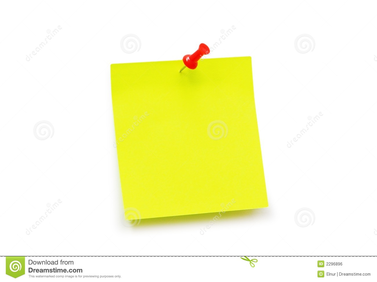 Royalty Free Stock Image Yellow Sticker Note Image2296896 on Writing A Business Letter