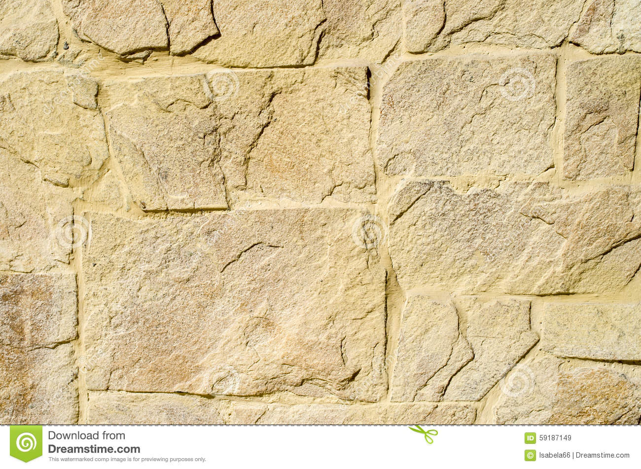 Yellow Stone Cladding Plates On The Wall Stock Image ... Yellow Sandstone Cladding